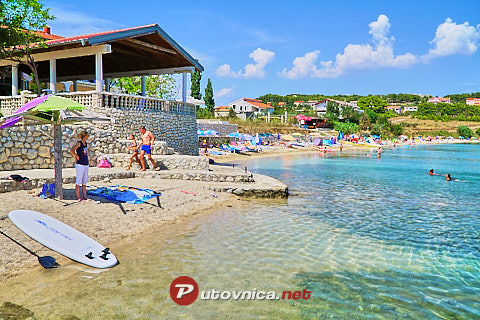 Vlašići (Pag): beaches and coves