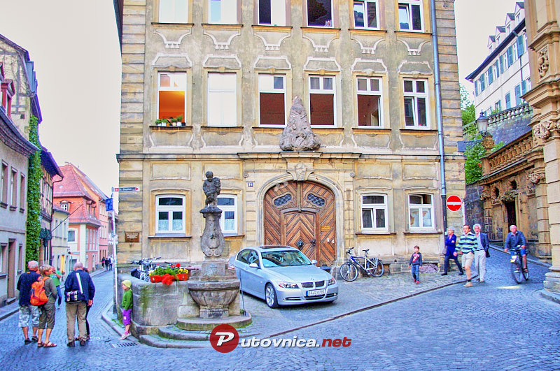 Bamberg: City streets and facades