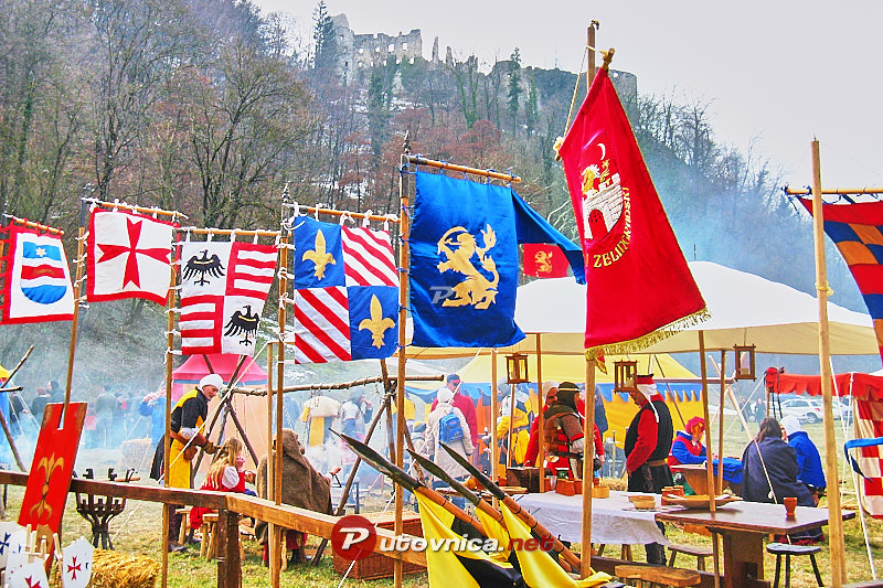 Battle of Samobor: Flags