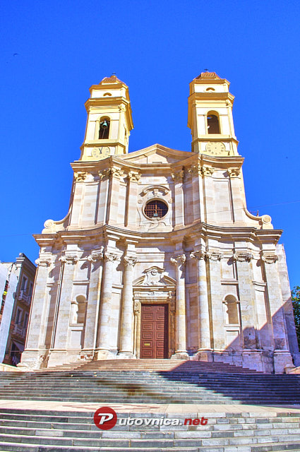 Cagliari: Church of St. Anne