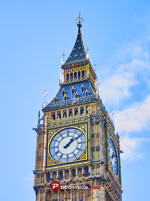 London: Elizabetin toranj (Big Ben)
