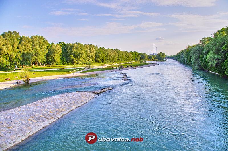 Munchen Rijeka Isar 108287 Slike Na Putovnica Net