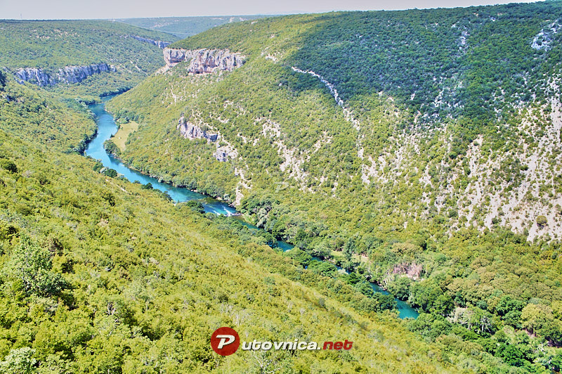 Nečven: Canyon of the Krka River