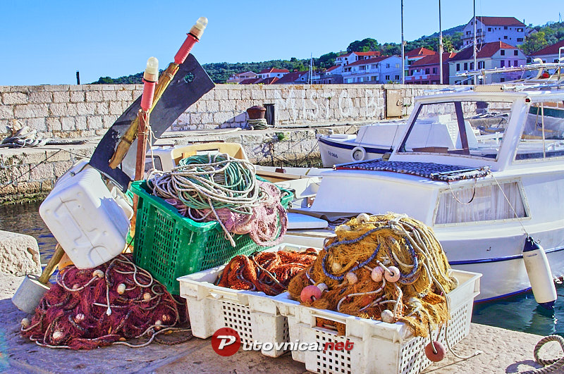 Sali (Dugi Otok): Fishing nets