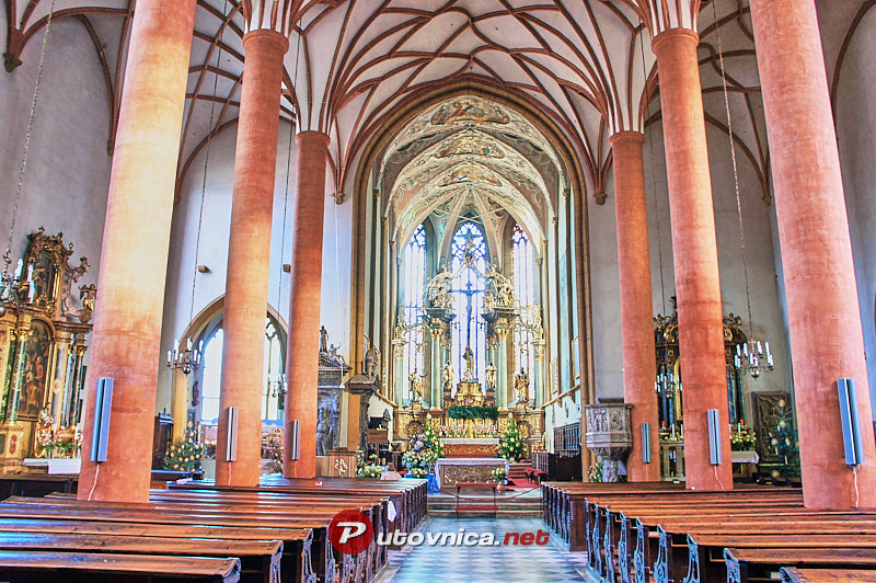 Villach: St. Jacob's Church interior