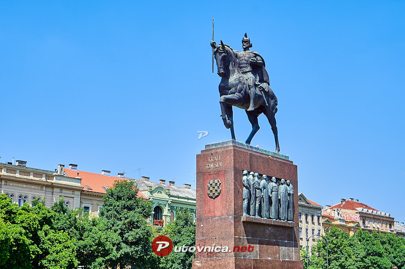 Zagreb Spomenik Kralju Tomislavu 115632 Slike Na Putovnica Net