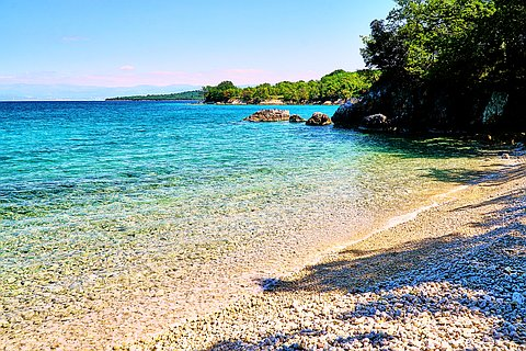 Bujina Middle Beach, Brzac (Krk)