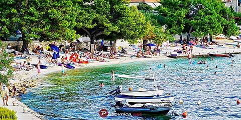 Trogir: beaches and coves