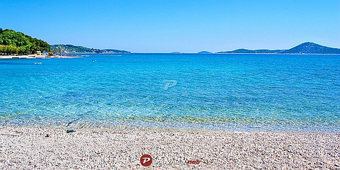 Vodice: beaches and coves
