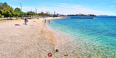 Zadar: beaches and coves